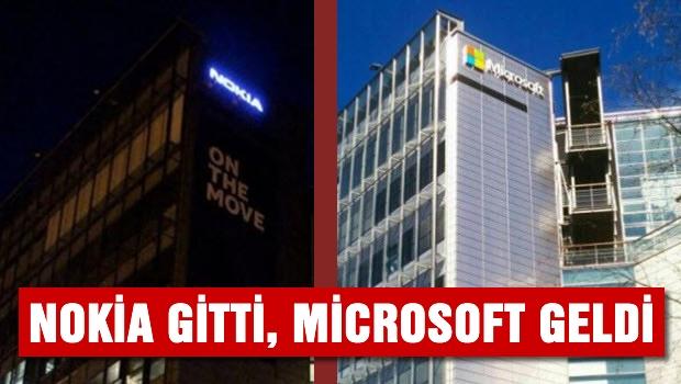 Nokia gitti, Microsoft geldi!