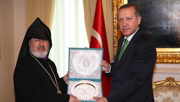 Ermeni Cemaatleri Erdoğan ile görüştü