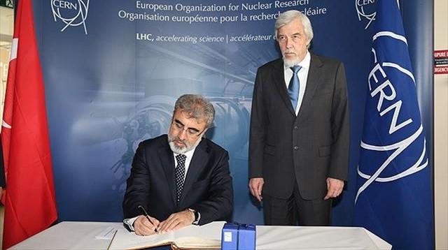 CERN'e resmen ortağız