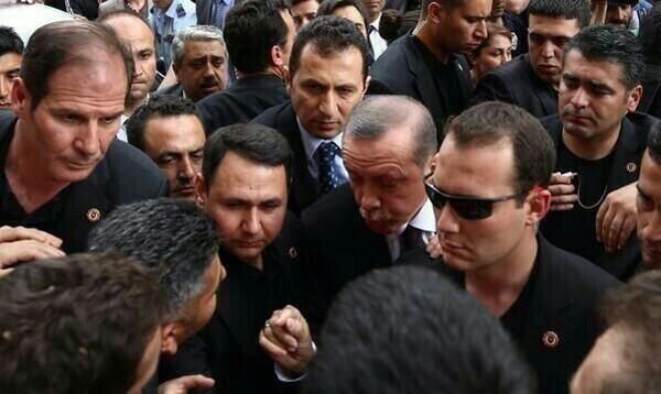 Soma'da Erdoğan'a protesto