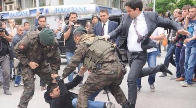 Erdoğan'ın dayakçı müşavirinden açıklama