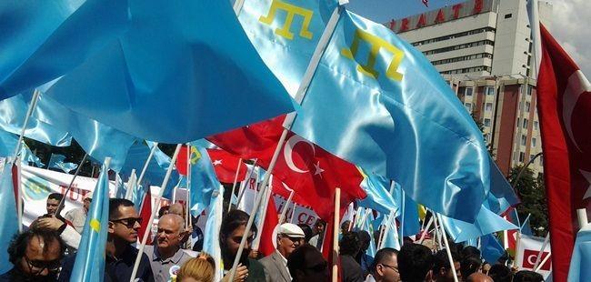 Ankara'da Sürgün mitingi