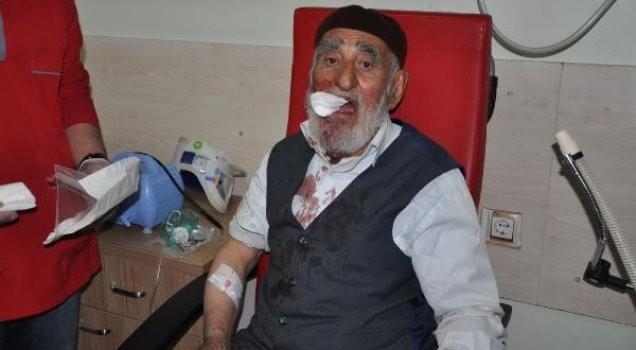 İmam 77 yaşındaki adamı dövdü