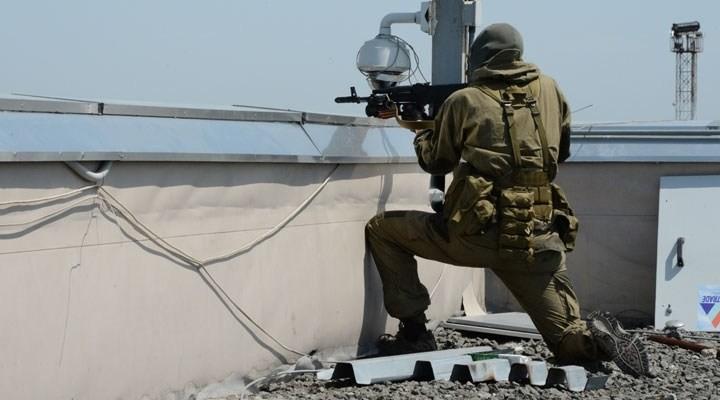 Donetsk havaalanını bombaladı