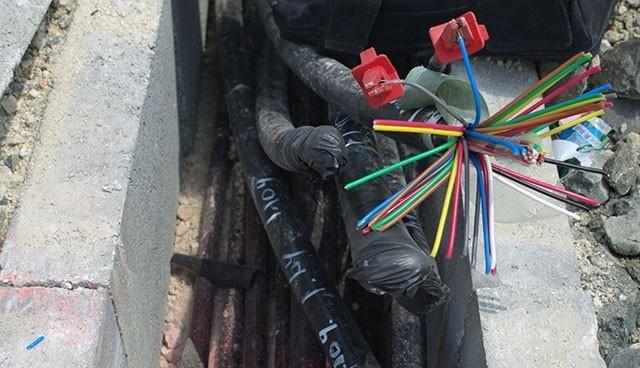 YHT'den kablo hırsızlığına tutuklama