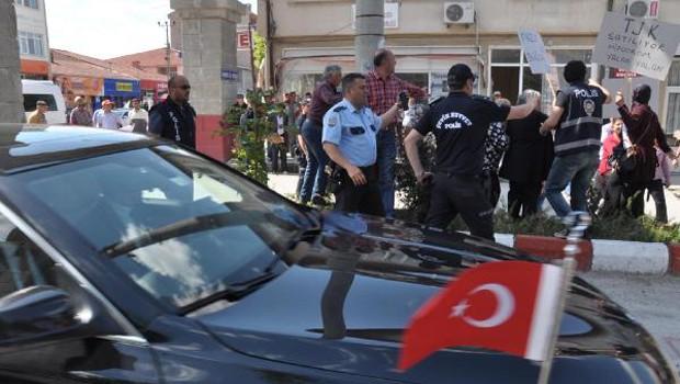 Bu ilçede AKP'lilere rahat yok