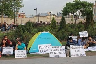 Sivas'ta öğrencilerden ilginç protesto
