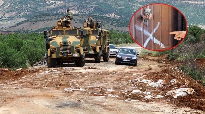 Asker evlerine hain işaret
