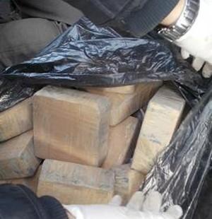 Ağrı'da 61 kilo eroin ele geçirildi