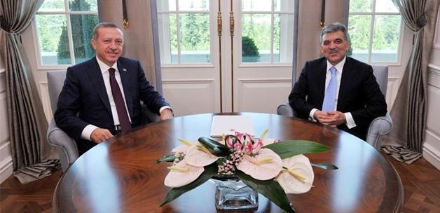 Erdoğan ve Gül'den yemekte buluşacaklar