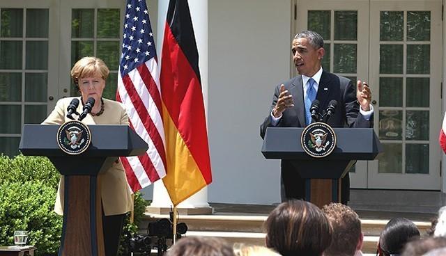 Obama ve Merkel'den Rusya'ya uyarı
