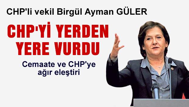 CHP'li vekil partisini yerden yere vurdu!