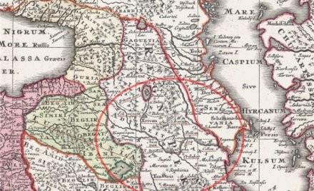 Büyük Azerbaycan'ın haritası bulundu