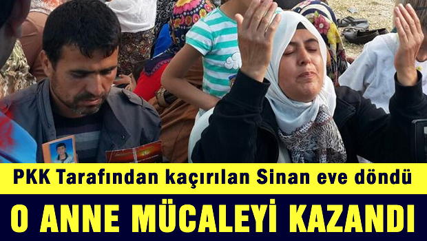 Bir Anne'nin başarısı: Diyarbakır'da kaçırılan çocuk serbest