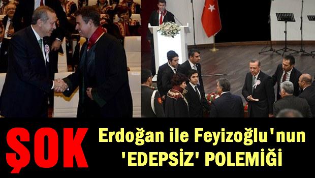Erdoğan ile Feyzioğlu'nun 'edepsiz' polemiği
