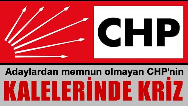 CHP'nin kalelerinde kriz