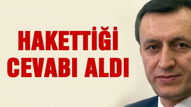 Metin Feyzioğlu hakettiği cevabı aldı