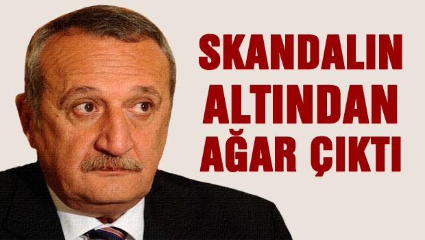 Skandaldan Mehmet Ağar çıktı