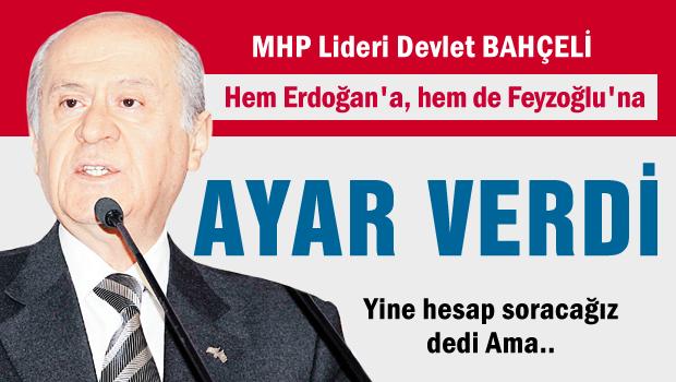 Hem Erdoğan'a, hem de Feyzoğlu'a ayar verdi
