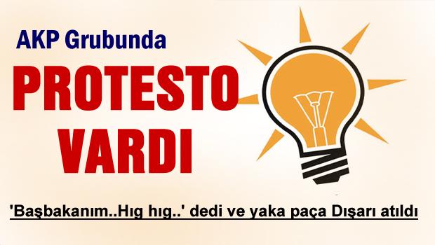 ERDOĞAN'A ŞOK PROTESTO