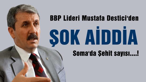Mustafa Destici'den önemli iddia