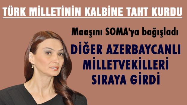 Ganire Paşayeva Bütün Azerbaycan'a örnek oldu