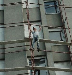 İnşaat işçileri: Hiçbir güvenliğimiz yok