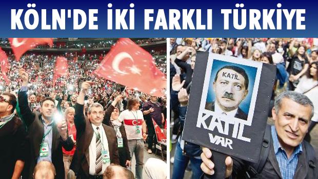 Almanya'da 2 farklı Türkiye
