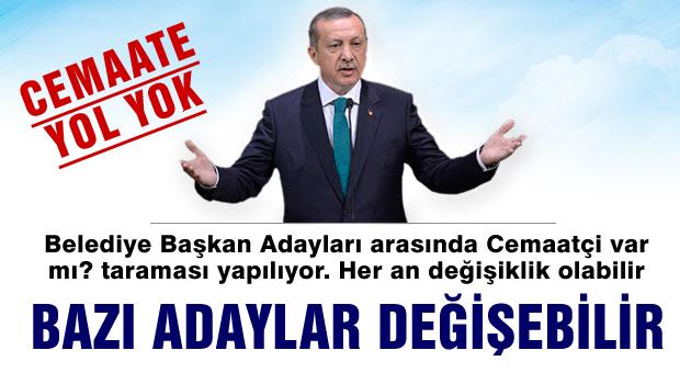 AKP'de Adaylar diken üstünde