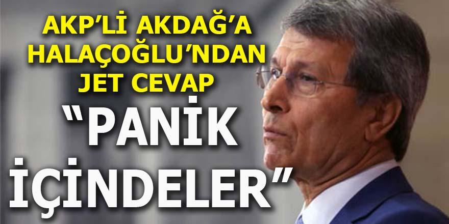 """Yusuf Halaçoğlu: """"AKP panik içinde"""""""