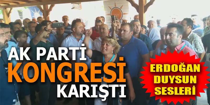 AK Parti kongresi karıştı