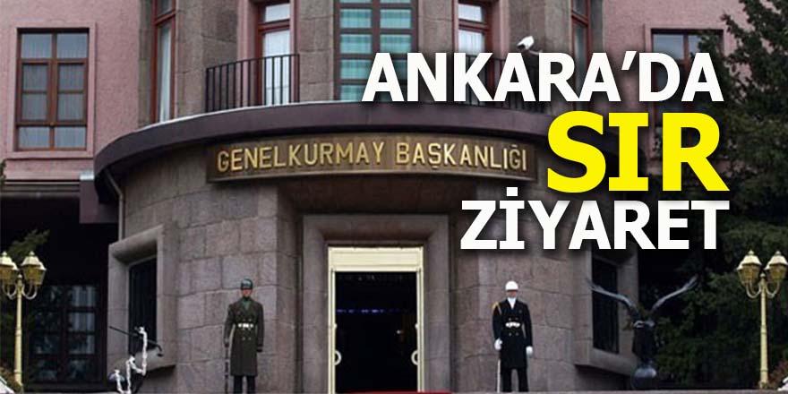 Ankara'da sır ziyaret