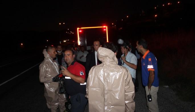 Zehirli varil 40 kişiyi zehirledi, Köy karantinaya alındı