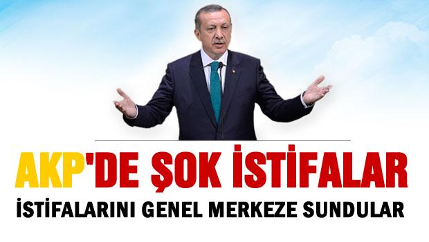 AKP'de ŞOK istifa