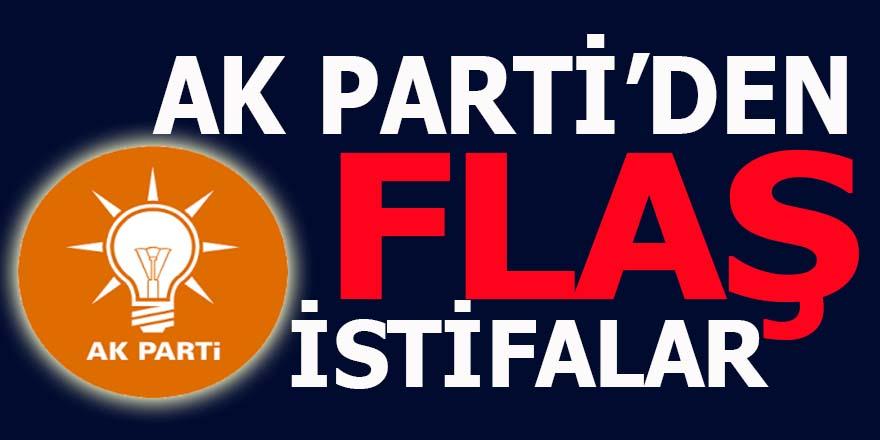 AK Parti'de flaş istifalar
