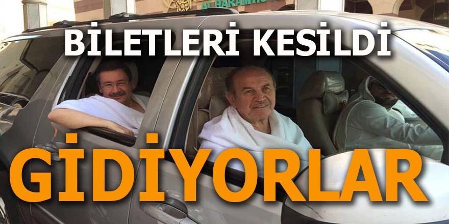 AK Parti Topbaş ve Gökçek'in biletlerini kesti