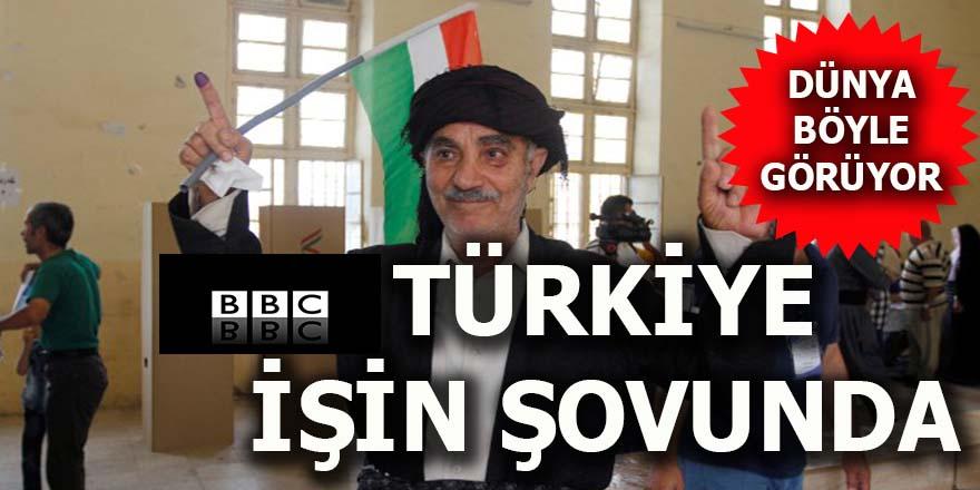 BBC: Türkiye işin şovunda