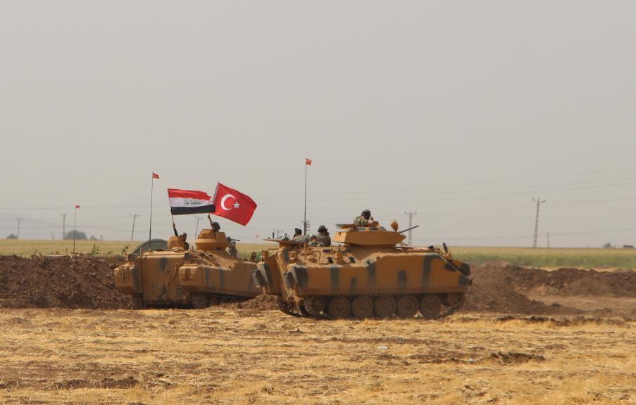 Irak askerleri TSK tatbikatında
