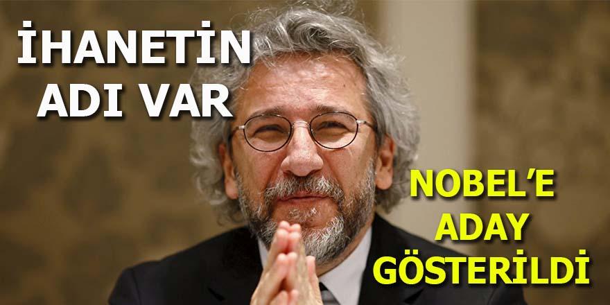 Can Dündar Nobel'e aday gösterildi