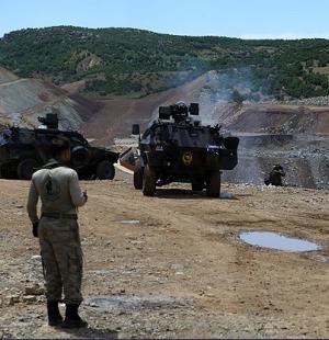 Lice'de PKK-Asker gerginlik