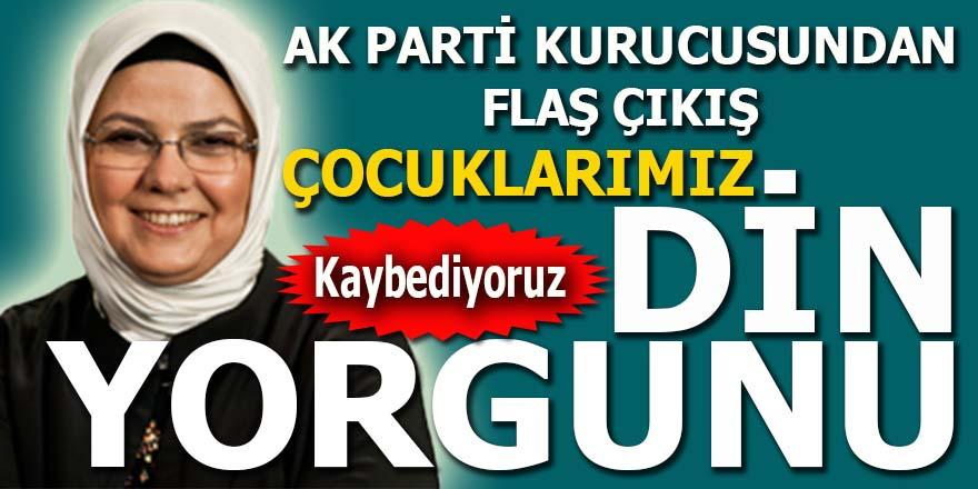 AKP kurucusu Böhüler: Kaybediyoruz! Çocuklarımız din yorgunu!
