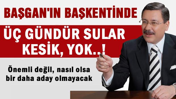 Fıskiyesini Kırdılar Ankara 3 Gündür Susuz!