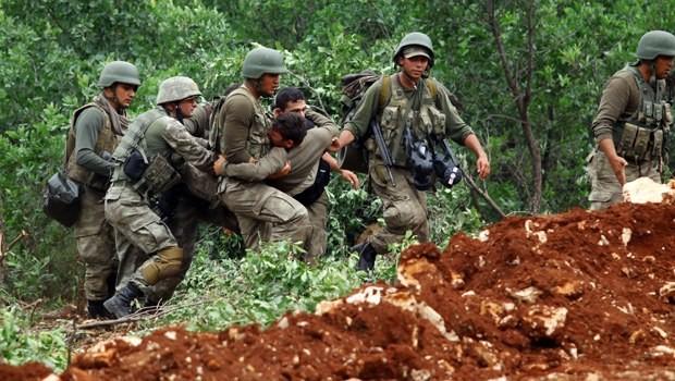 Lice'de 1 asker yaralandı, çatışma çıktı