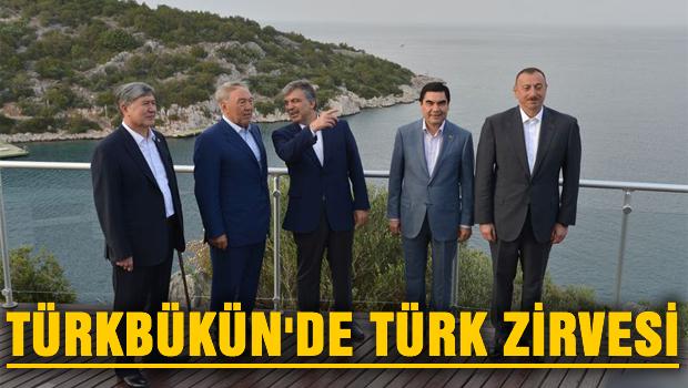 Türkbükü'nde Türk zirvesi