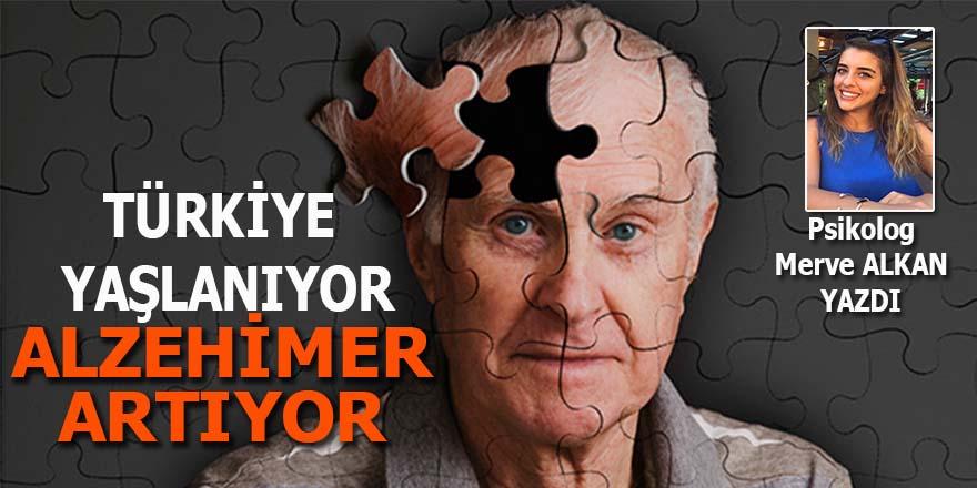 Türkiye yaşlanıyor, Alzheimer artıyor