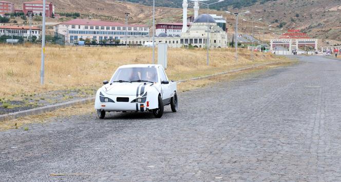 Yozgat Bozok Üniversitesi elektrikle çalışan otomobil üretti