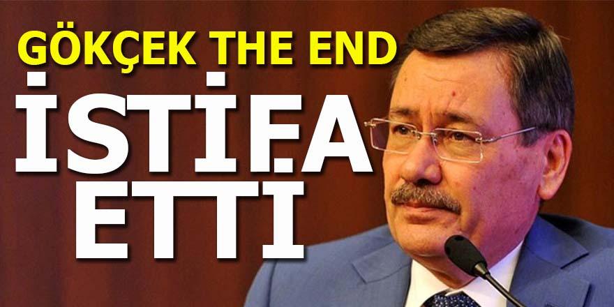 Gökçek The End: İstifa etti!