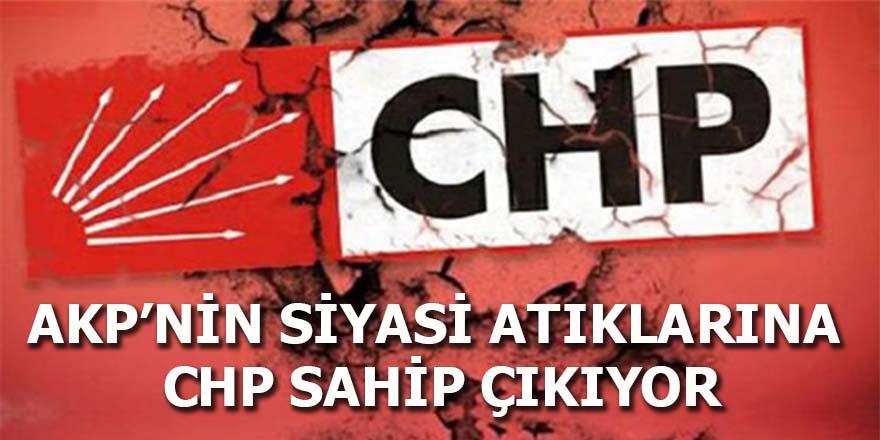 AKP'nin siyasi atıklarına CHP sahip çıkıyor