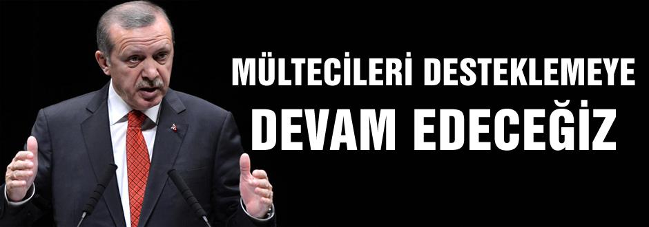 Erdoğan'dan Suriyeli mülteci açıklaması!