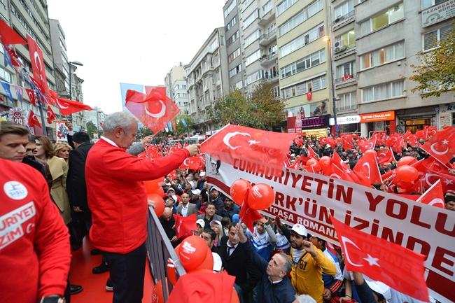 Cumhuriyet Bayramı Şişli' de Coşku İçinde Kutlanacak